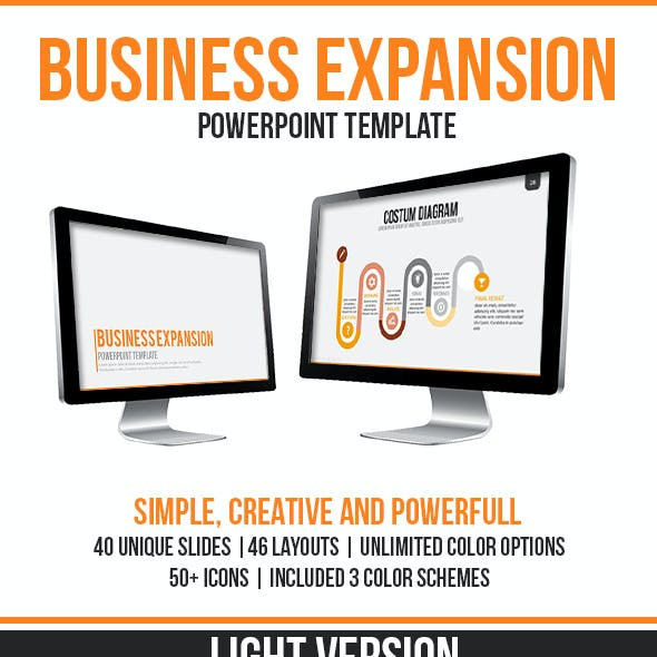 Business Expansion PowerPoint Template