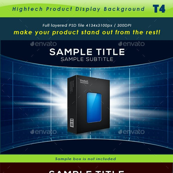 Hightech Product Background T4