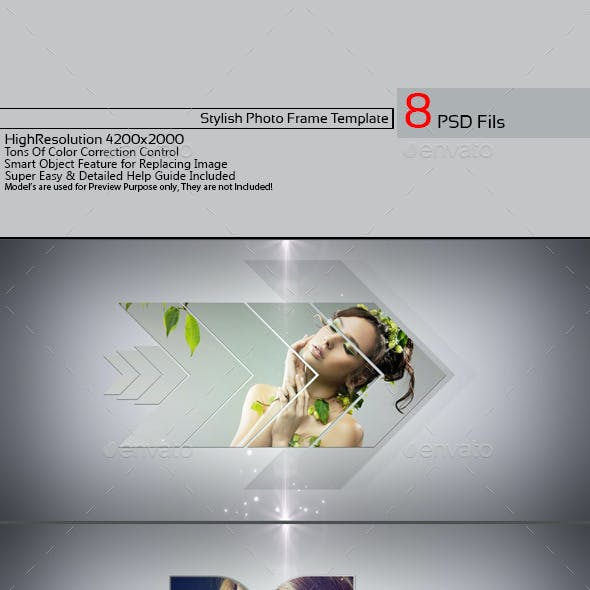 Stylish Photo Frame Template v01