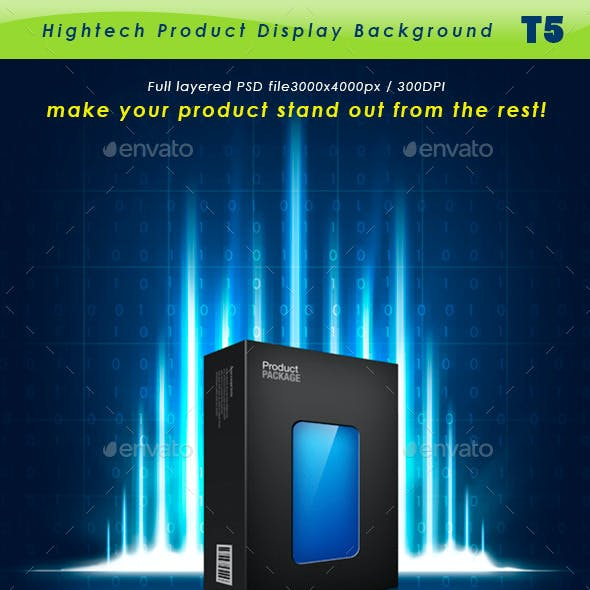 Hightech Product Background T5
