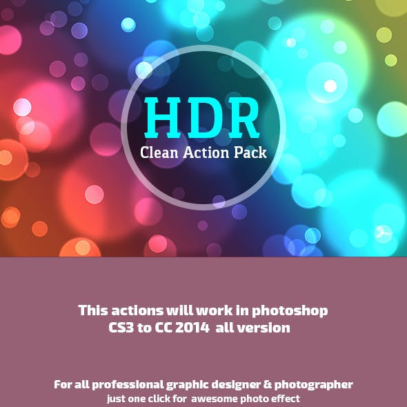 HDR Clean Action Pack