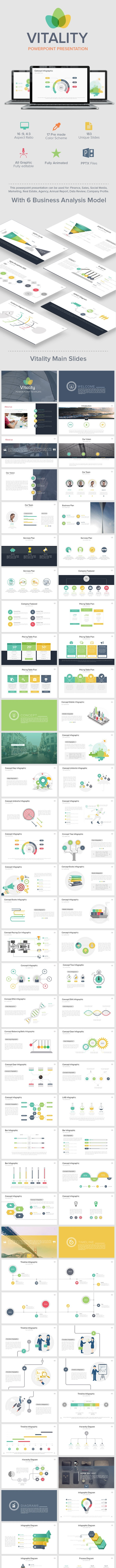 Vitality Powerpoint Presentation  - Creative PowerPoint Templates