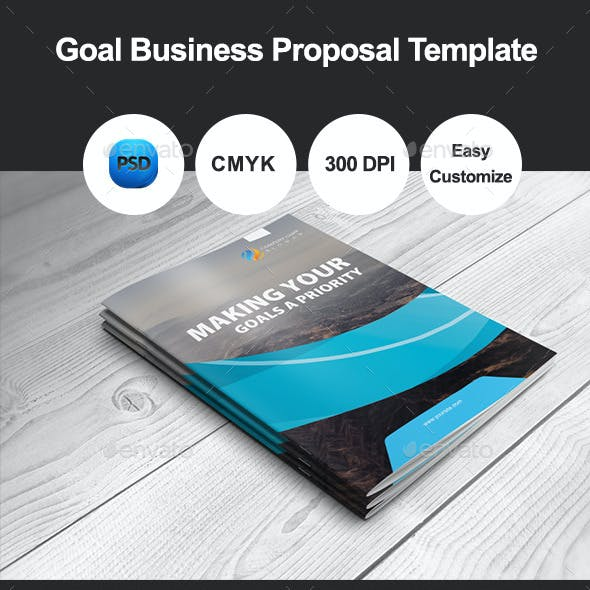 Goal Business Proposal Template