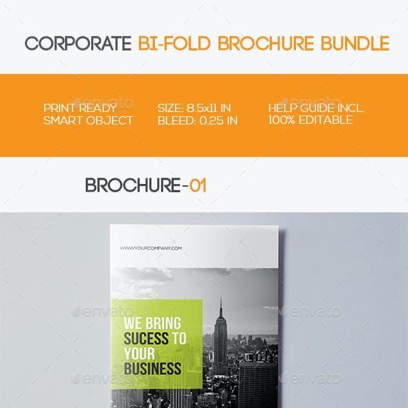 Corporate Bi-fold Brochure Bundle