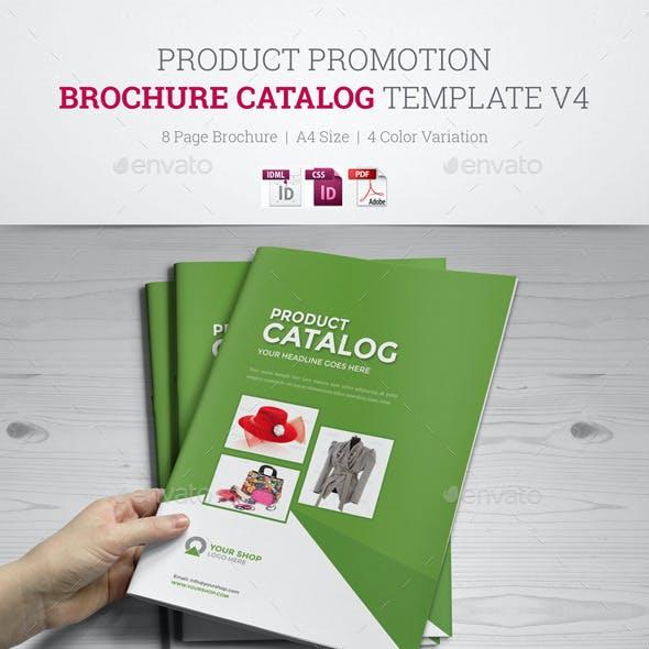 Product Promotion Catalog InDesign Template v4