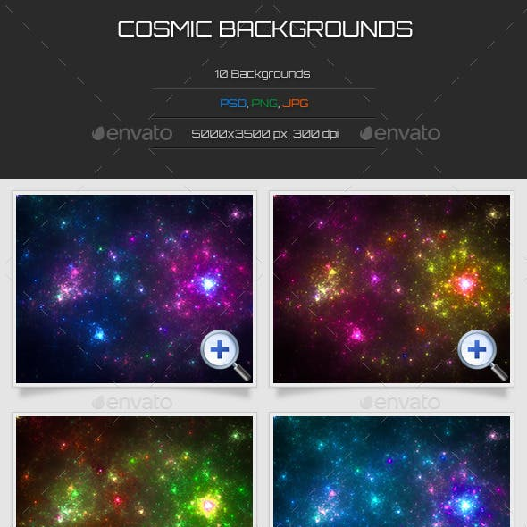 10 Cosmic Backgrounds
