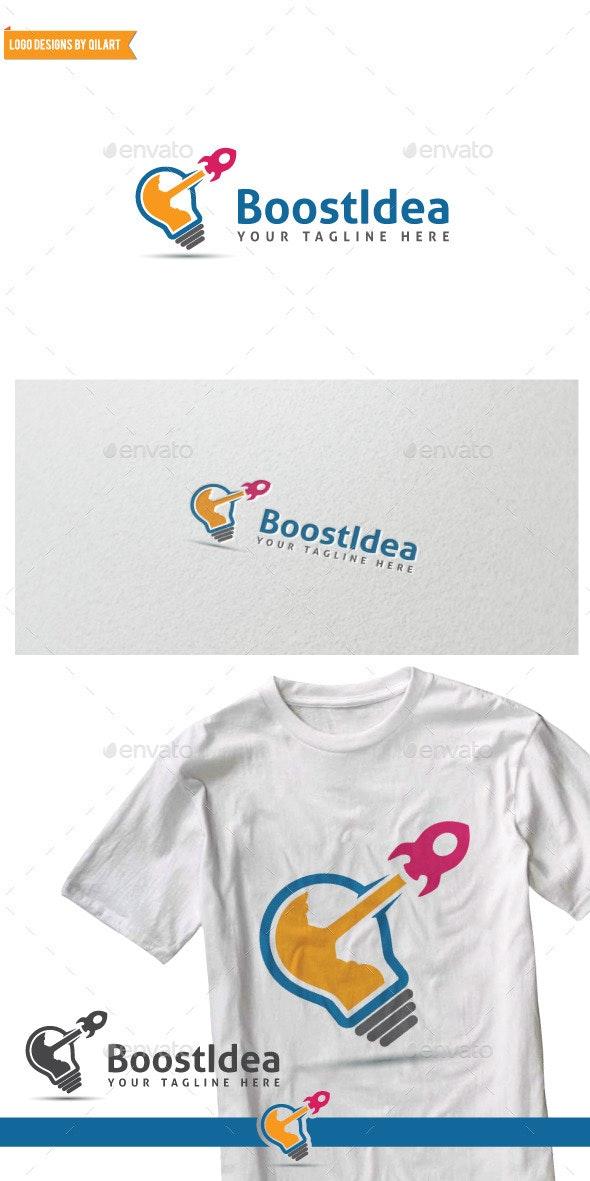 BoostIdea - Abstract Logo Templates