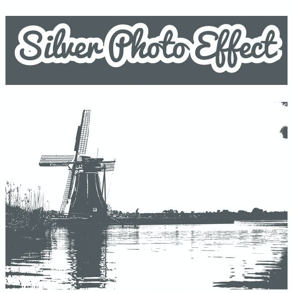 Silver Photo Effect