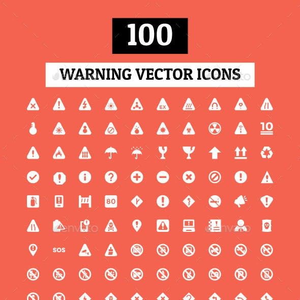 Warning Signs Graphics, Designs & Templates from GraphicRiver