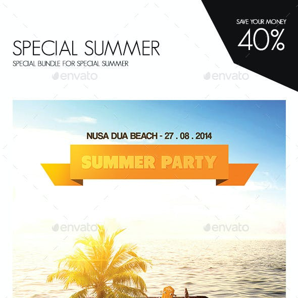 Special Summer Flyer Bundle