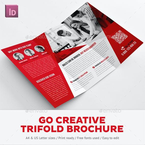 Go Creative Trifold Brochure