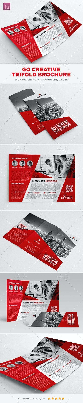 Go Creative Trifold Brochure - Corporate Brochures