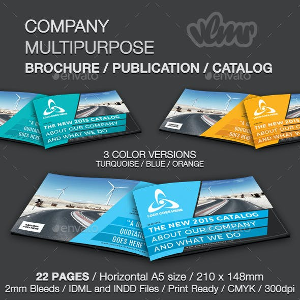 Company Multipurpose Brochure Template