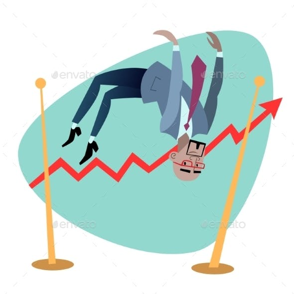African Businessman Jumps Schedule Of Sales