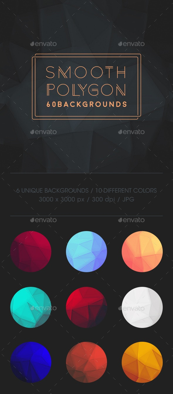 Smooth Polygon Backgrounds - Abstract Backgrounds