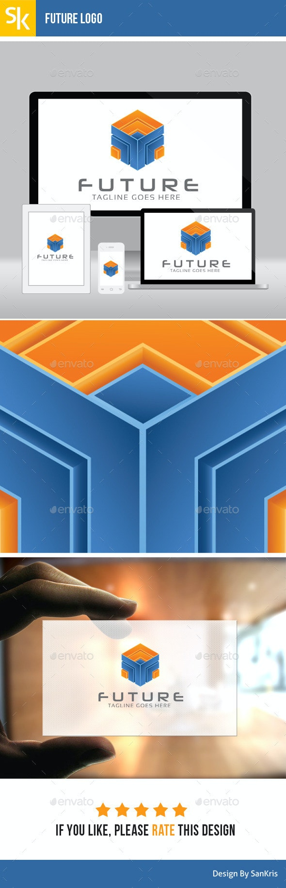 Future Logo - Abstract Logo Templates