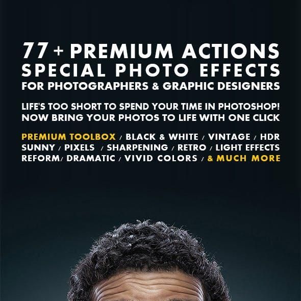 77+ Premium Actions