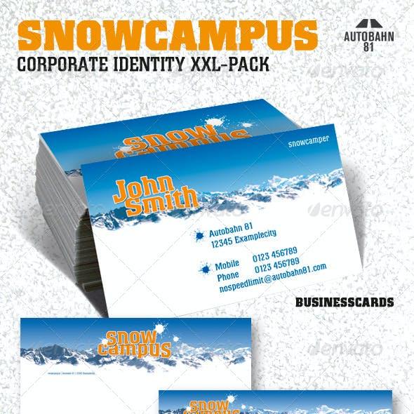 SnowCampus Winter Stationery