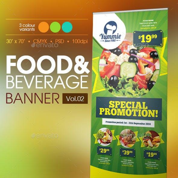 Restaurant Banner Vol.2