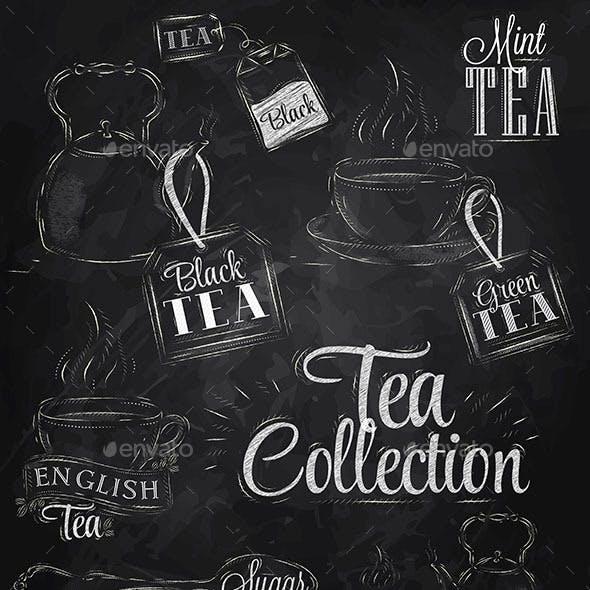 Tea Chalk Collection