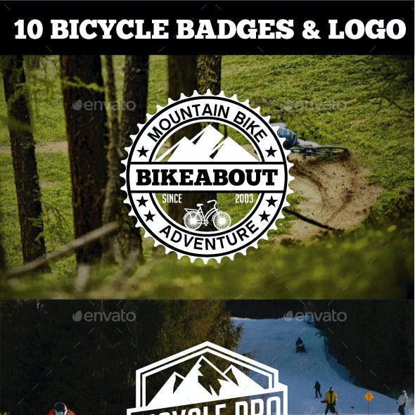 Sport Bicycle Badges & Logo