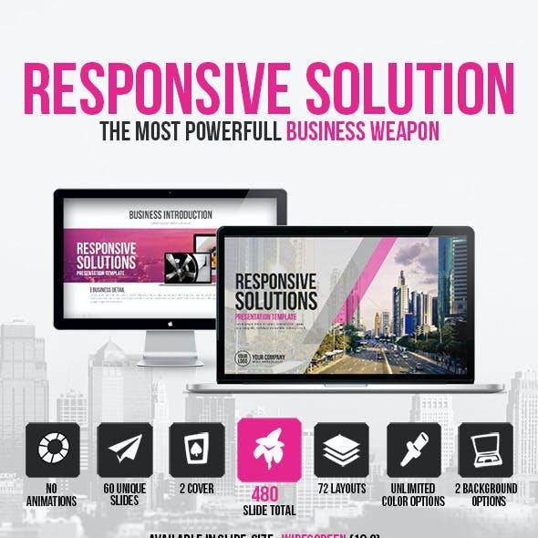 Responsive Solutions Presentation Template