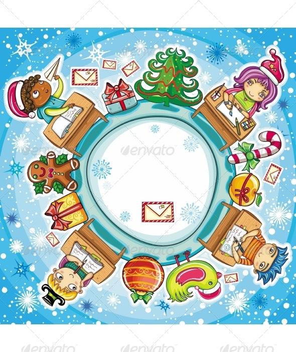 Letter to Santa series - Christmas Seasons/Holidays