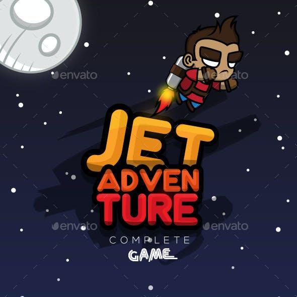Jet Adventure Game Assets