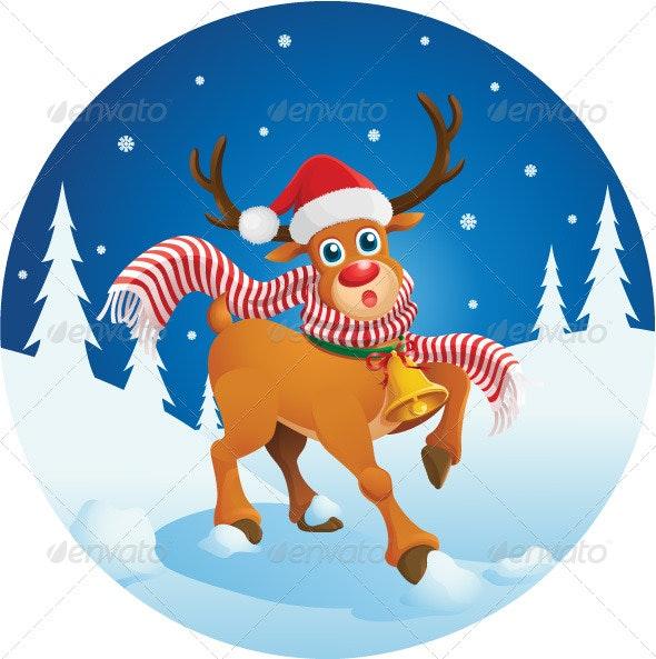 Cute Reindeer - Christmas Seasons/Holidays
