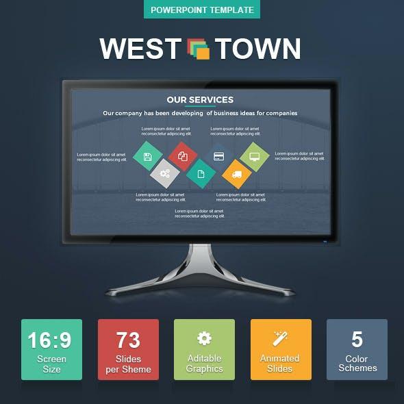 WestTown PowerPoint Presentation Template
