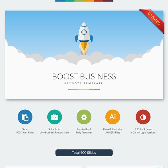 Boost Business Keynote Template