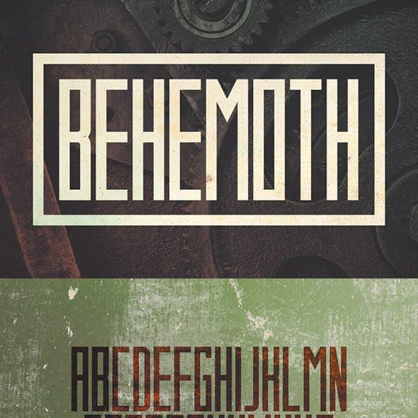 Behemoth Typeface