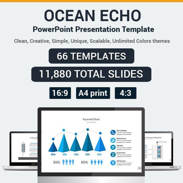 Ocean Echo PowerPoint Presentation Template