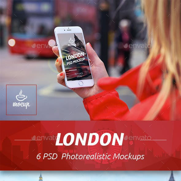 6 PSD Mockups London