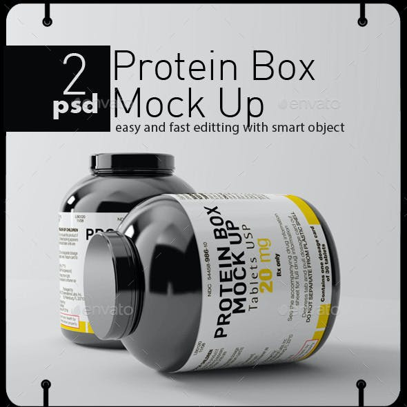 2 Protein Canister Mock Up