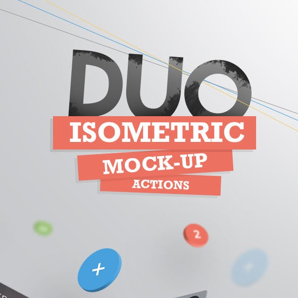 Duo Isometric Mock-Up actions