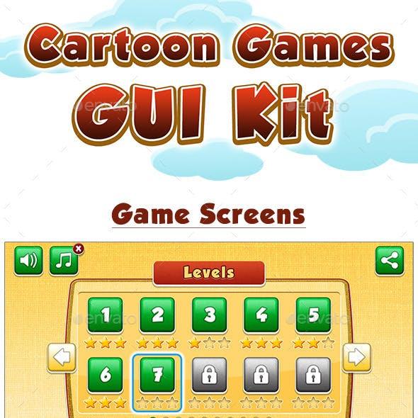 Cartoon Games GUI Kit