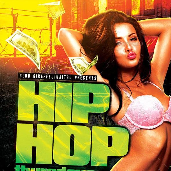 Hip Hop Thursdays Flyer Template