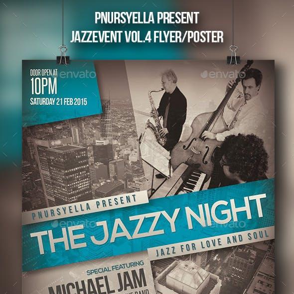 Jazz Event Flyer / Poster Vol.4