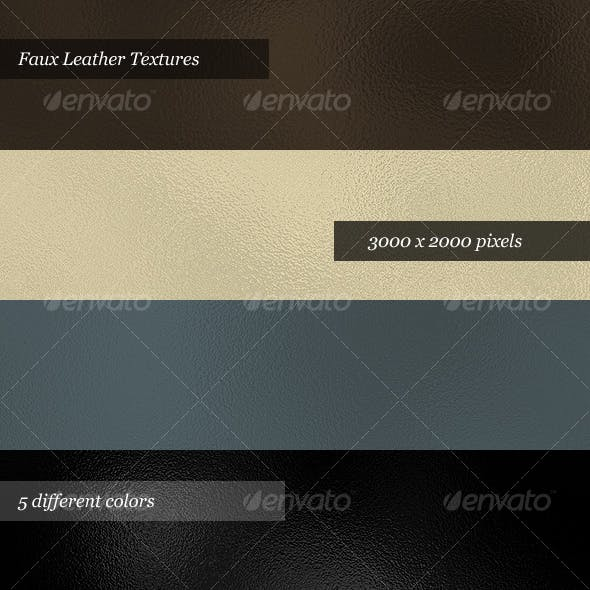 Leather Textures (Pack of 5)