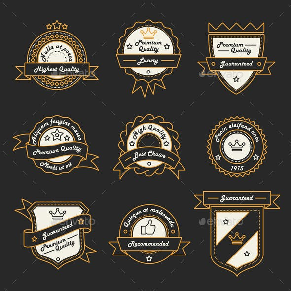 9 Label and Badge Templates