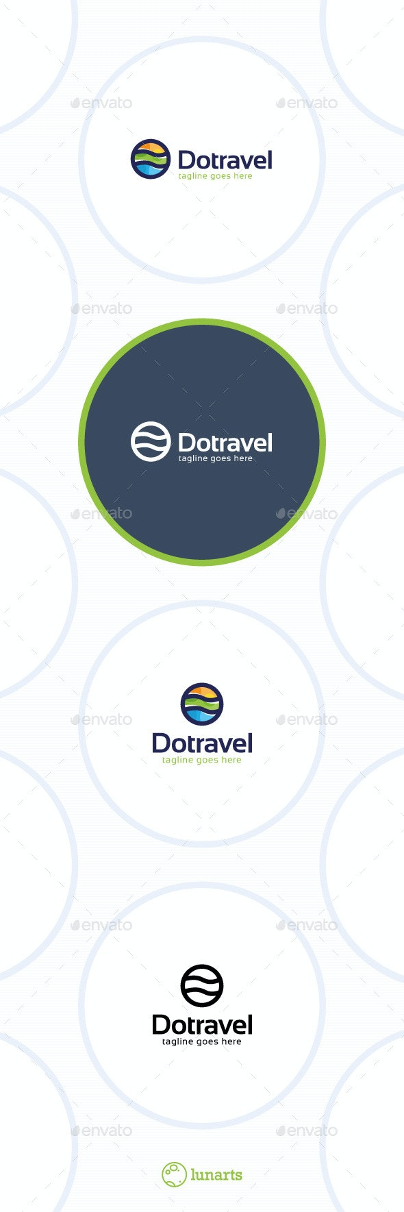 Dot Travel Logo - Abstract Logo Templates