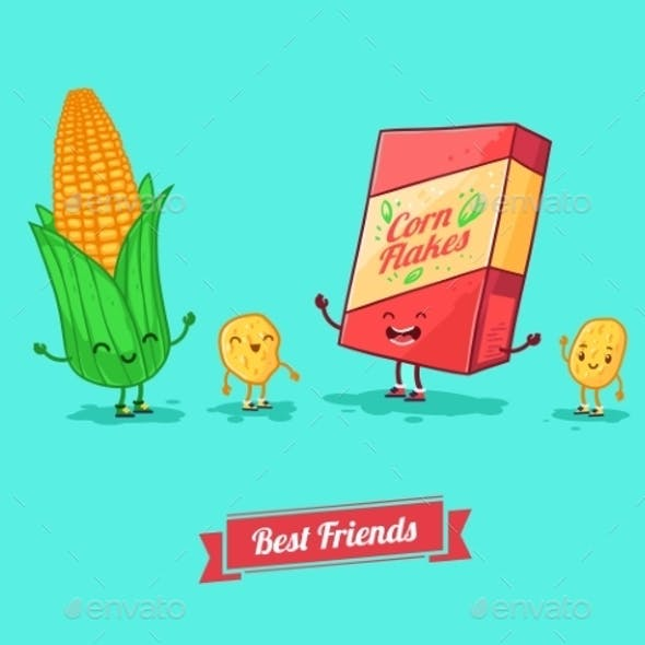 Cartoon Food