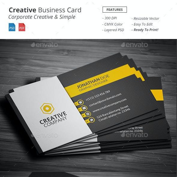Creative - Business Card Template
