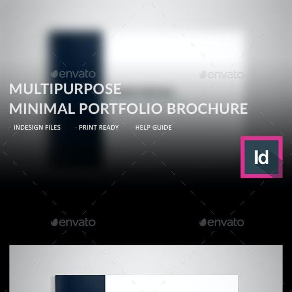 Minimal Multipurpose Portfolio Brochure