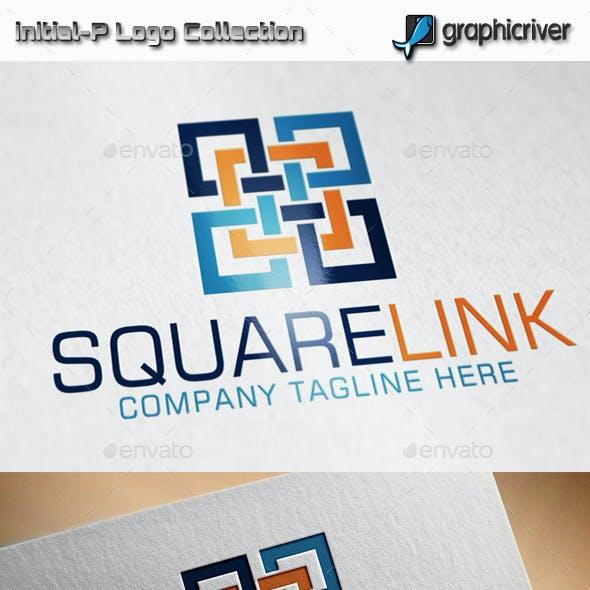 Square Link - Square Combination Logo