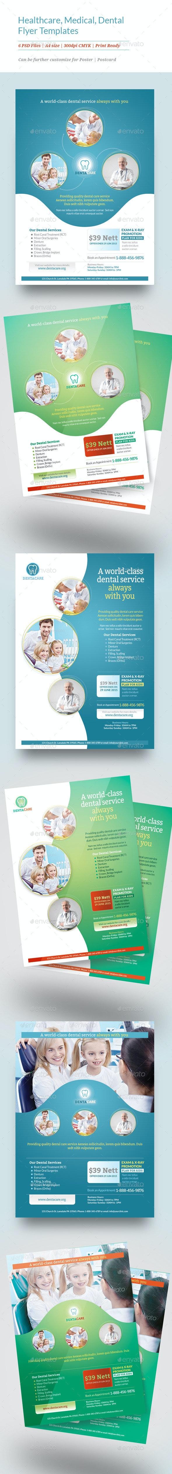 Healthcare, Medical, Dental Flyer Templates - Corporate Flyers