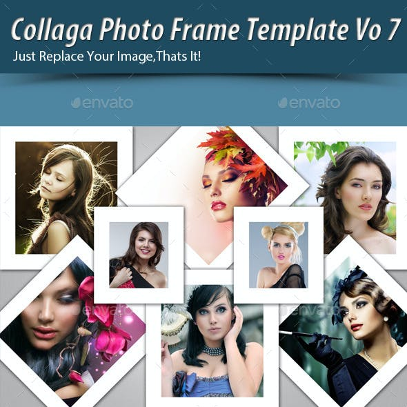 Collaga Photo Template Vo7