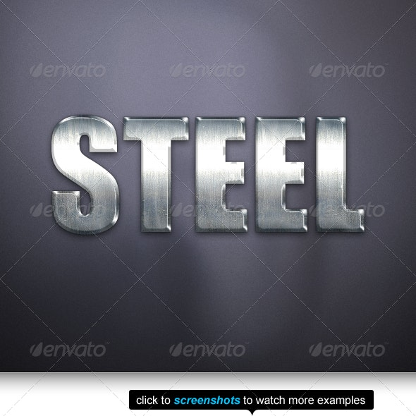 The Best Steel Text Effects & Styles - Text Effects Styles