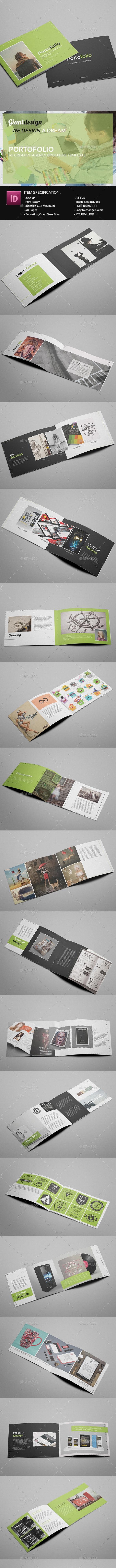 Portofolio - Creative Agency Brochure - Portfolio Brochures